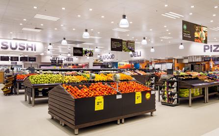 Supermarket v Austrálii