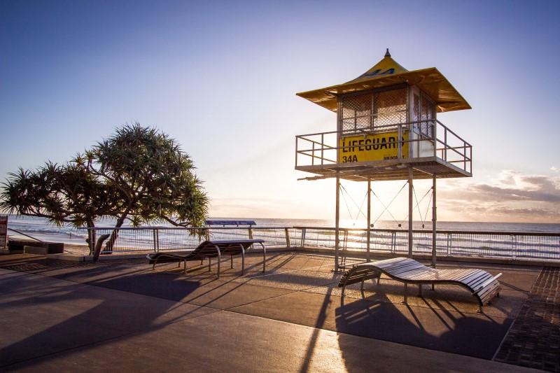 Plavčičká věž na Australském pobřeží
